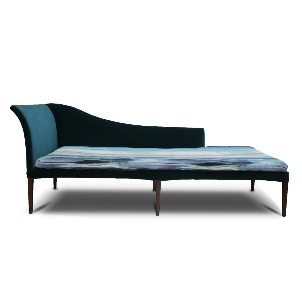 Odense chaise boeme design fabrics cushions furniture for Chaise and a half