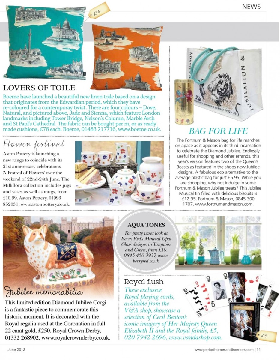 Period Homes And Interiors June 2012