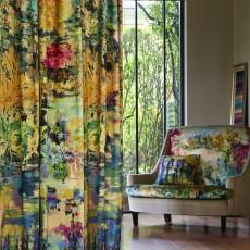 Gardenia curtain